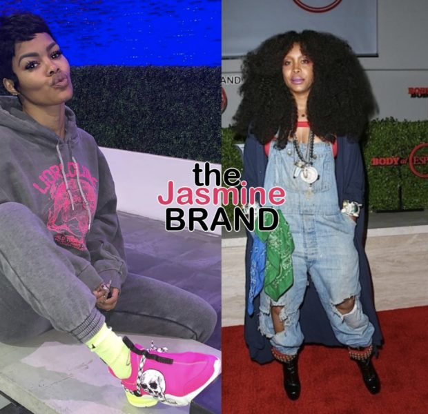 Erykah Badu Will Deliver Teyana Taylor's Second Baby