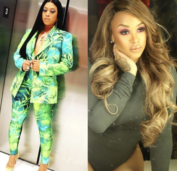 Masika Kalysha Blasts Trina's Rant On Protests, Trina Responds: Keep My Name Out Of Your Mouth, B*tch!
