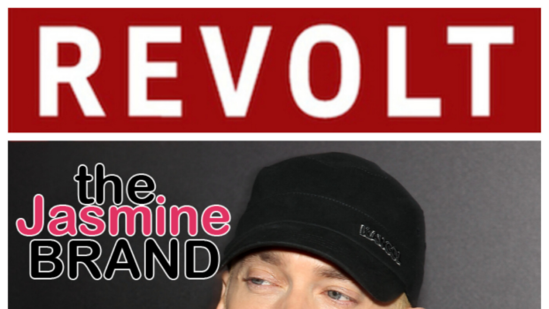 """Eminem Responds To Revolt """"I Never Meant For That Verse To Be Heard, I Was Heated In The Moment"""""""