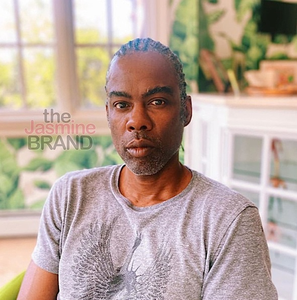 Chris Rock Shows Off Fresh Cornrows