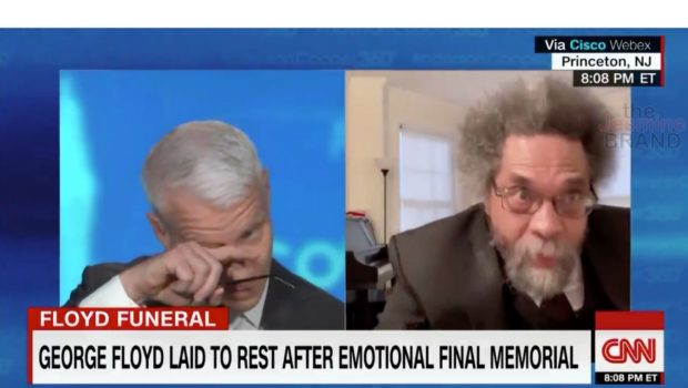 Anderson Cooper Tears Up While Talking To Cornel West [Watch]