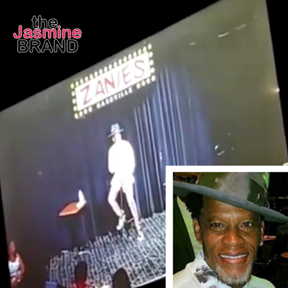 D.L. Hughley Explains Why He Fainted: I Tested Positive For COVID-19 [VIDEO]