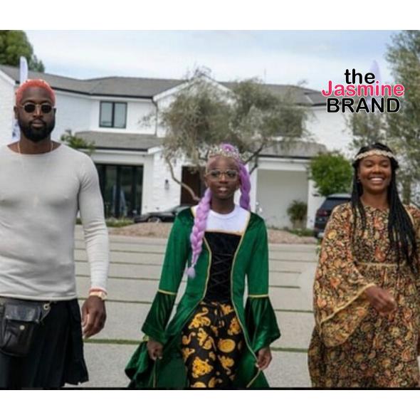 Dwyane Wade,  Gabrielle Union & Zaya Celebrate Pride Month [PHOTOS]