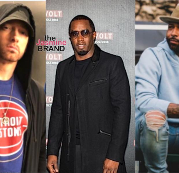 Eminem Says 'F*ck' Diddy's Revolt TV In Leaked Song + Slams Joe Budden [LISTEN]