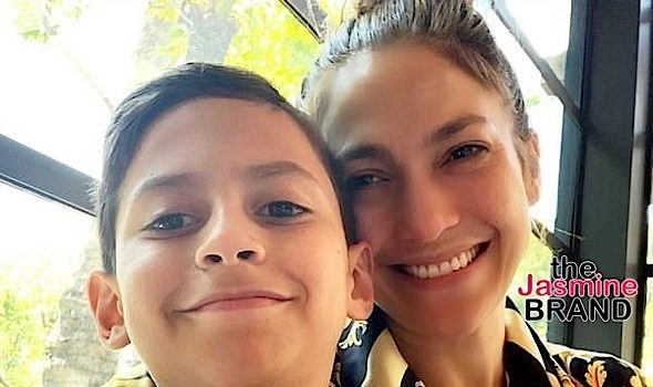 J.Lo's Son Urged Her To Protest In Honor Of George Floyd [VIDEO]