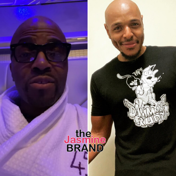 Teddy Riley Apologizes To Comedian Tony Baker After Telling Him 'You Still Broke': I Snapped & I Didn't Mean To