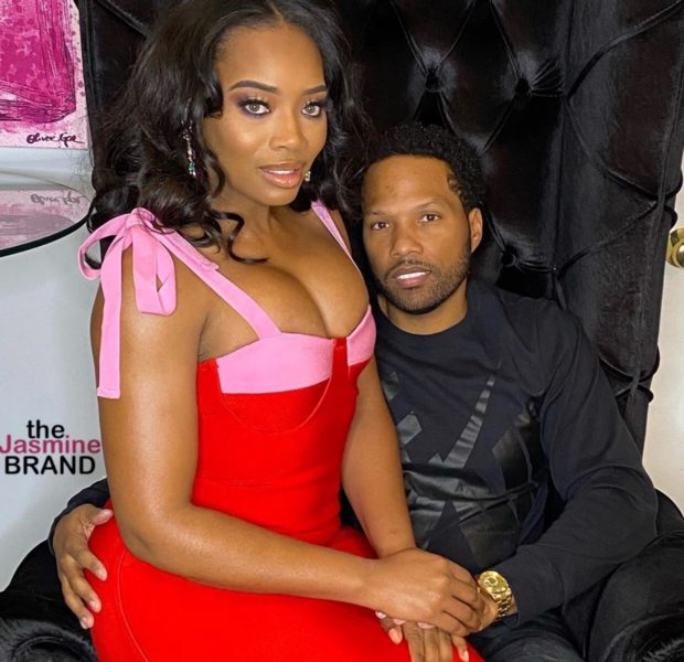 Yandy Smith's Husband Mendeecees Harris Fears For Her Life When She Protests