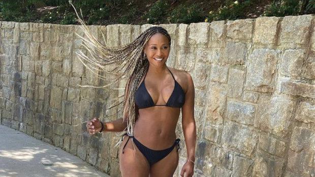 Cynthia Bailey Serves Body In A 2 Piece Bikini [PHOTOS]