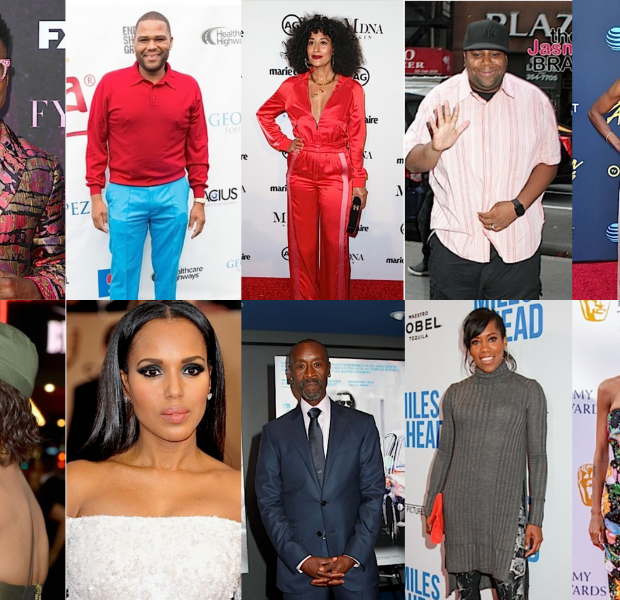 Emmy Nominations: Issa Rae, Anthony Anderson, Don Cheadle, Regina King, Kerry Washington Nominated + Fans React To Viola Davis Snub!
