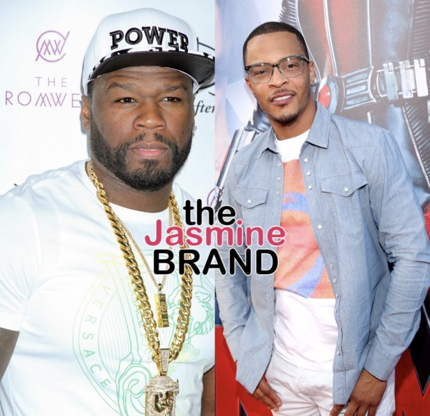 50 Cent Reacts To T.I. Saying He Has More Classic Albums Than Him: It's Too Early, I'm Going Back To Sleep