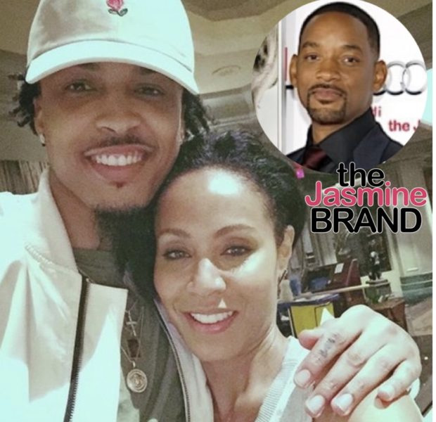 Jada Pinkett-Smith & Will Smith Were Alerted Before August Alsina's Affair Allegations: Everyone Got Courtesy Calls