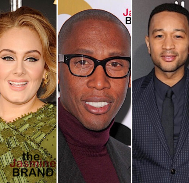 Adele Is Allegedly Working W/ Raphael Saadiq & John Legend For Her New Album
