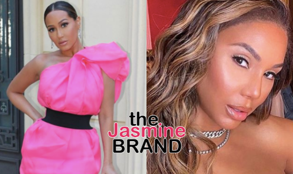 Adrienne Bailon On Why She Didn't Post About Tamar Braxton On Social Media: Everything Isn't For Instagram! Pray For Her In Real Life!