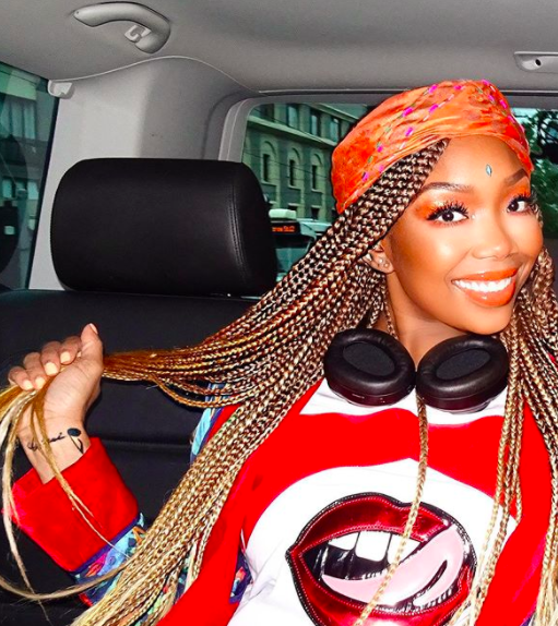 Brandy's Hairstylist Denies Rumors She Wore Lace Front Braids In The 90s: That's A LIE