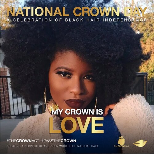 National Crown Day Set For July 3rd: A Day Of Solidarity For Women, Men & Children To Wear Their Natural Hair Boldly & Proudly