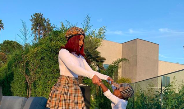 Cardi B & Daughter Kulture Are Twinning In Adorable Photos