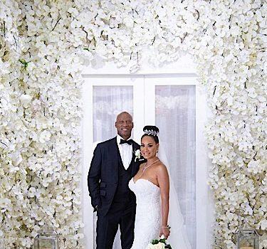 'Basketball Wives' Star CeCe Gutierrez & Byron Scott Get Married In Live Streamed Wedding [VIDEO]