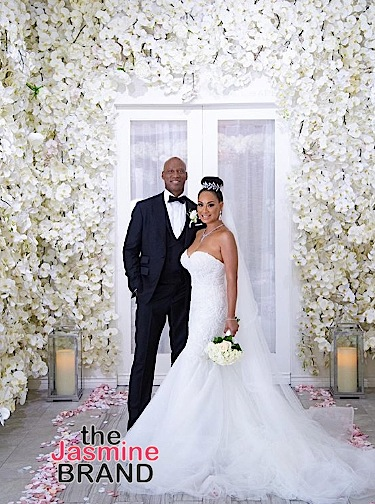 'Basketball Wives' Star CeCe Gutierrez & Byron Scott Get Married In Live Streamed Wedding [VIDEO]