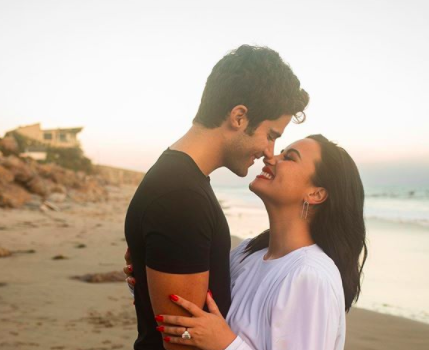 Demi Lovato Engaged To Actor Max Ehrich After 4 Months [PHOTOS]
