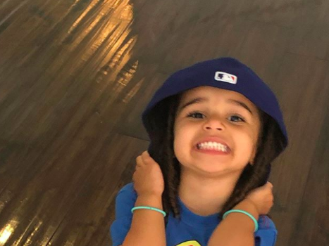 Rob Kardashian & Daughter Dream Have Adorable Daddy/Daughter Moments On Social Media [WATCH]