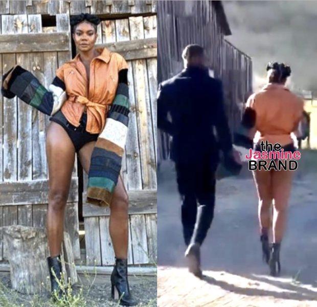 Gabrielle Union Serves Legs & Booty In GLAAD Awards Ensemble
