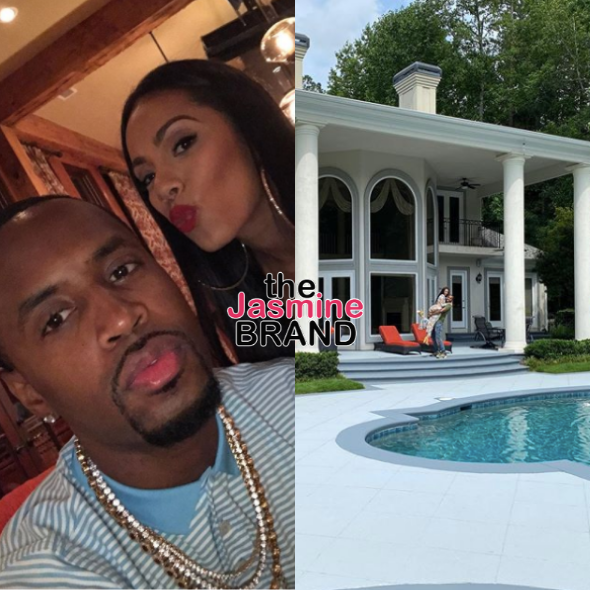 Erica Mena & Safaree Samuels Splurge On Their Dream Home: We Need A Golf Cart To Get Around!
