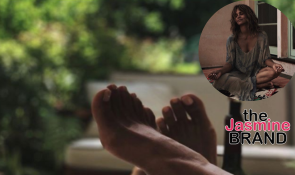 Halle Berry & A Mystery Man Enjoy Their 'Sunday Funday'