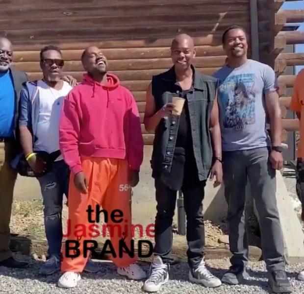 Dave Chappelle Hops On A Jet To Visit Kanye After Alarming Tweets [VIDEO]