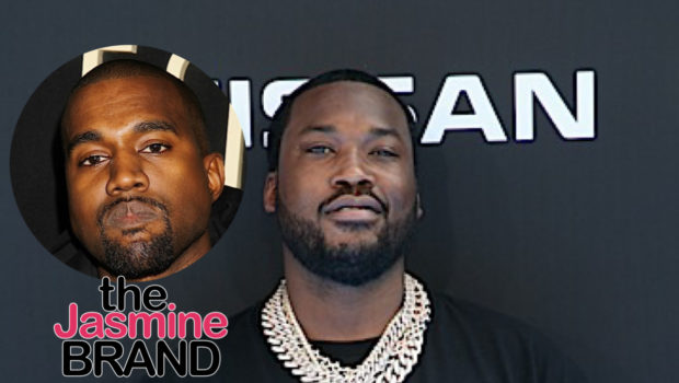 Meek Mill Seemingly Responds To Kanye's Claim That Kim Kardashian Cheated W/ Him: Sh*t Is Cap!