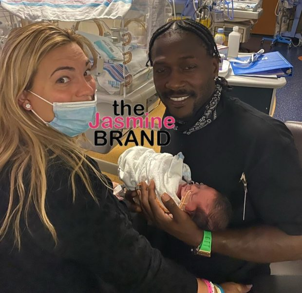 Ex NFL Star Antonio Brown & Chelsie Kyriss Welcome New Baby Allure