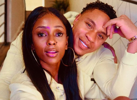 Actor Rotimi And Girlfriend Vanessa Mdee Share Cute Pic From At Home Photoshoot