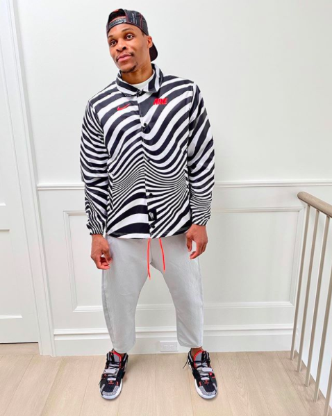 Russell Westbrook Tests Positive For COVID-19