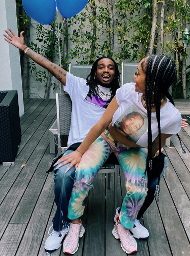 Saweetie Breaks Into The Splits After Boyfriend Quavo Gifts Her W/ 2 Birkin Bags For Her Birthday [WATCH]