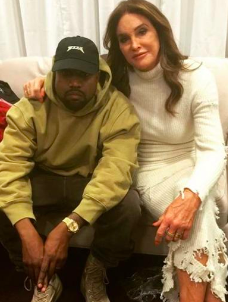Caitlyn Jenner Wants To Be Kanye West's Running Mate
