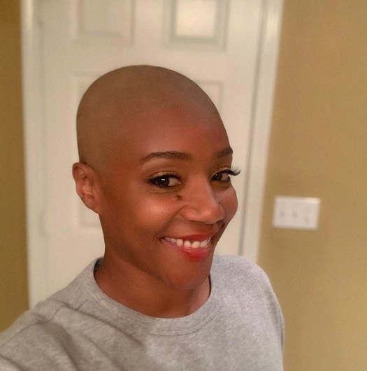 Tiffany Haddish Is Loving Her New Bald Head