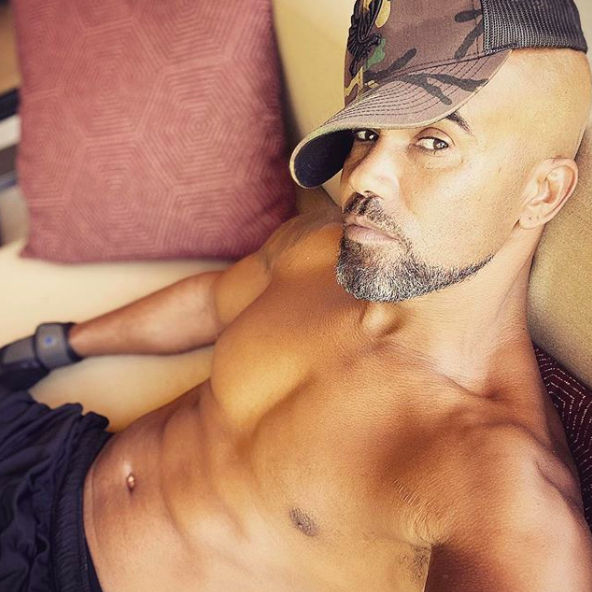 Shemar Moore Is Getting His 'Mojo Back' In Shirtless Selfie