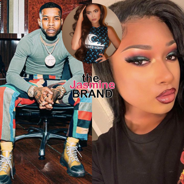Tory Lanez & Megan Thee Stallion Allegedly Argued Over Kylie Jenner Before Shooting