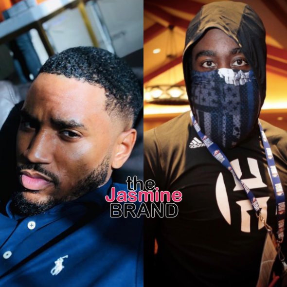 Trey Songz Calls Out James Harden For Sporting #BlueLivesMatter Mask: This Certified Clown Sh*t