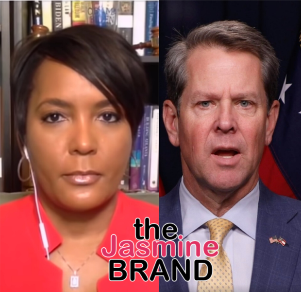 Georgia Governor Brian Kemp Drops Lawsuit Against Atlanta Mayor Keisha Lance Bottoms Over Mask Mandate