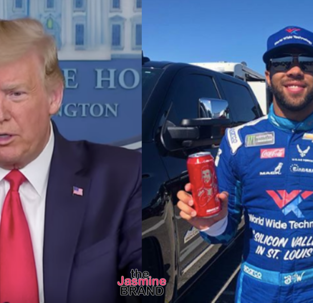 Bubba Wallace Reacts To Donald Trump's Comments About Noose Controversy: Love Over Hate Every Day, Even When It's Hate From POTUS