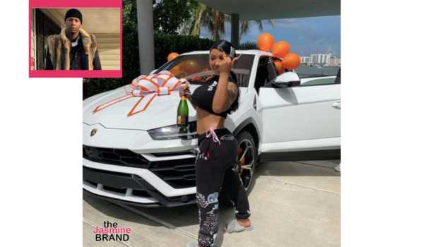 Moneybagg Yo Buys Girlfriend Ari Fletcher A Lamborghini Truck For Her Birthday