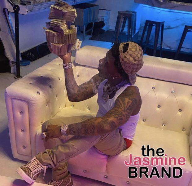 Rapper YFN Lucci & His Kids Count Thousands Of Dollars In Cash [VIDEO]