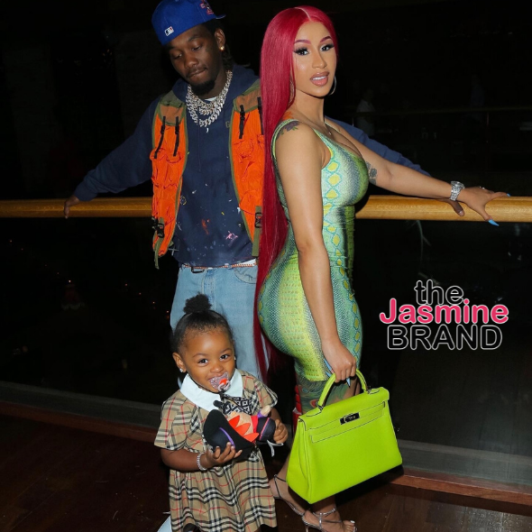 Cardi B Reacts To Criticism Of Offset's Birkin Bag Gift To 2-Year-Old Daughter Kulture: She Gon' Match Mommy!