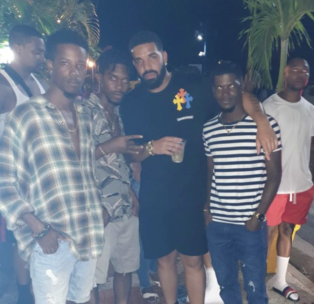 Drake Spotted Out & About In Barbados [VIDEO]