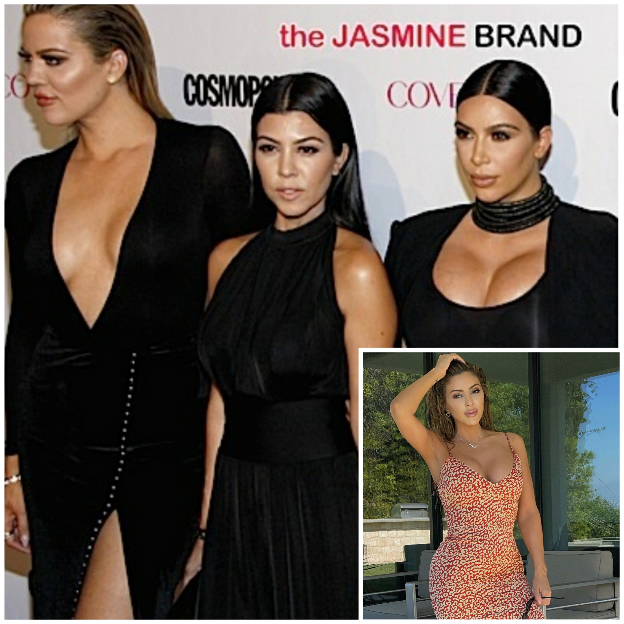 Kim Kardashian Posts Throwback Pic with Her Sisters — See