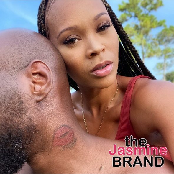 Lamar Odom Sports New Neck Tattoo Of Lips & Fiancée's Nickname [PHOTOS]