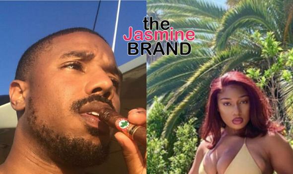 Michael B. Jordan Thirsts Over Megan Thee Stallion's Twerking Video, She Responds