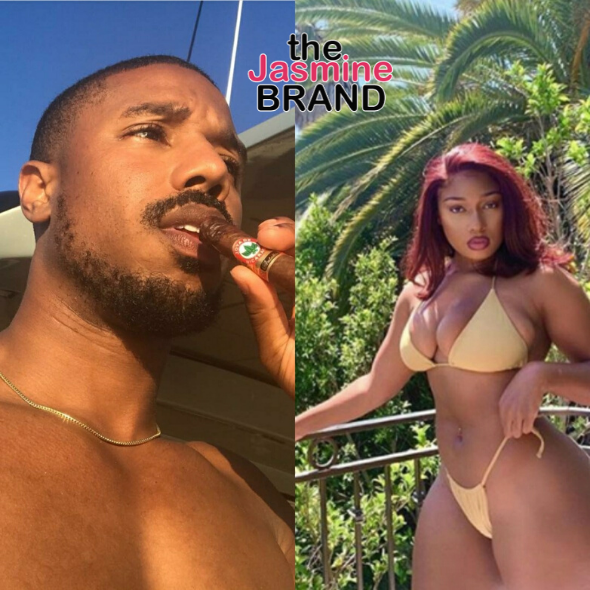 Michael B. Jordan Thirsts Over Megan Thee Stallion's Twerking Video, She Responds