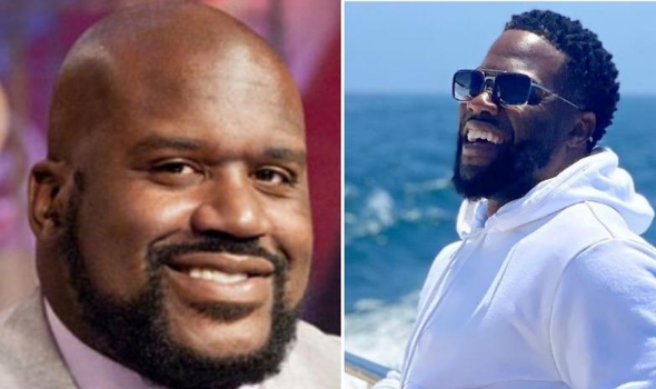 Kevin Hart & Shaq Clown Each Other During Hilarious Interview [WATCH]