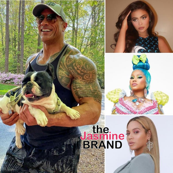 Nicki Minaj, Beyonce Make Top 10 Highest-Paid Celebs On Instagram+ Dwayne 'The Rock' Johnson Dethrones Kylie Jenner From Number 1 Spot!